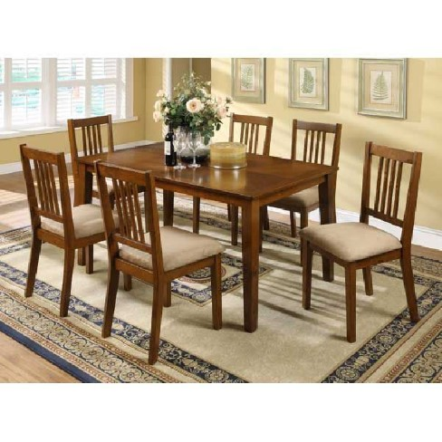 mission 7-piece dining