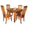 solid nz pine 5-piece dining