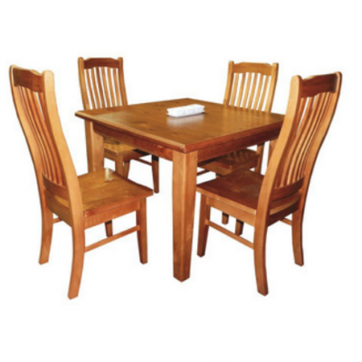 solid nz pine 5-piece dining