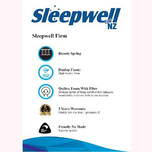 sleepwell firm mattress2